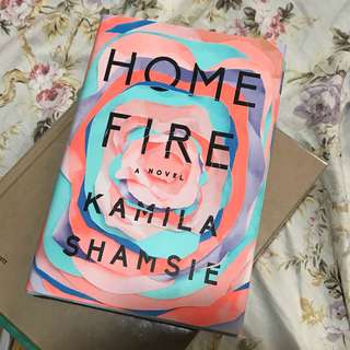 Unused HARD COVER - Home Fire