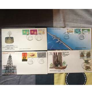 First Day Cover 1985 (4 Set)