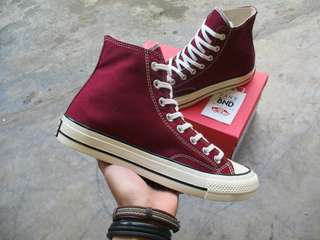 Converse High 1970s Maroon