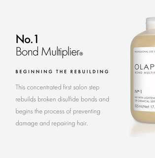 $70 Olaplex 2 Steps Hair Treatment (include wash & blow)