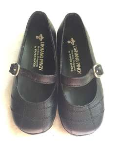 Likhang Pinoy Black Doll Shoes