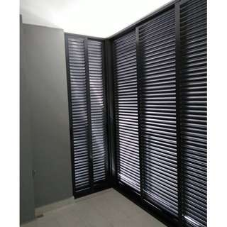 Aluminium Window (Louvers)