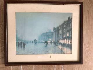 """""""Liverpool From Wapping""""by John Atkinson Grimshaw"""