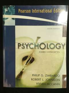 Psychology core concepts (6th edition)