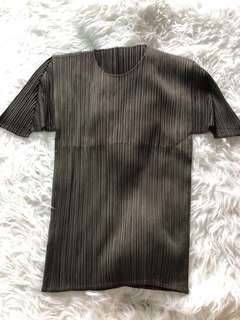 Pleats please Issey Miyake green Top