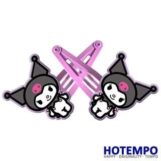 Japan Cartoon kuromi Melody Cute Sanrio Childhood Action Figure for girls Hair accessories gift Hairpins