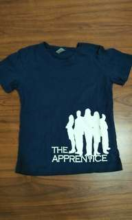 藍色T-shirt