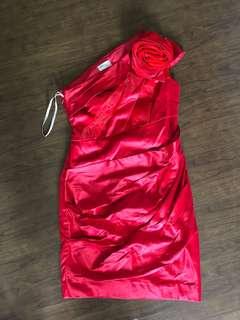 Karen millen merah red dress pesta party