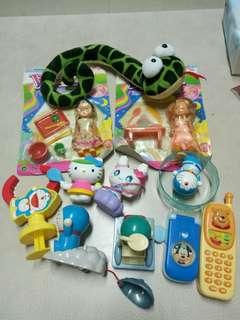 早期女卡+玩具=100$