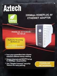 Aztech Powerline Adapter 200Mbps HL110E-AR
