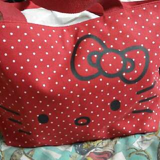 Tas Hello Kitty Nego Sukasuka