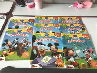 Brand new Disney mickey Chinese books set of 8