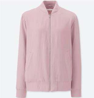 Uniqlo Blush Bomber Jacket