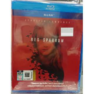 Red Sparrow Jennifer Lawrence Blu-ray