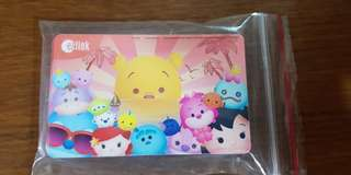 Brand New Rare Tsum Tsum Sun Rise Ezlink with 5 dollar value