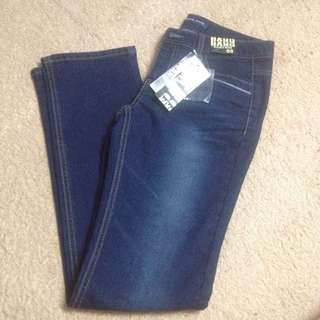Korean fashion denim pants