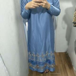 Raya dress (elegant blue)