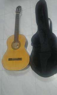 Good Condition Used Guitar With Guitar Bag