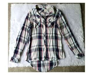 Colorful Plaid Longsleeves