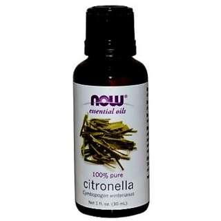 Citronella Essential Oils 30 ml NOW