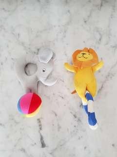 IKEA Animals Rattle Toy