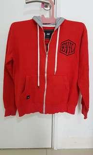 Jaket Sweeter Evil Jaket Wanita Merah Size L