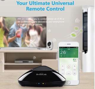 Broadlink RM PRO+ (Smart Home Solution with Video Demo)