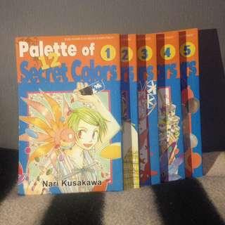Pallet of 12 secret colors (tamat)