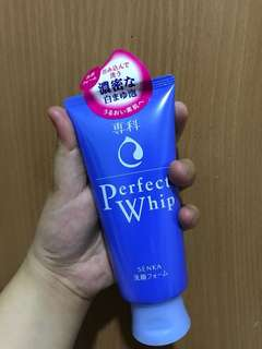 Shiseido Perfect Whip Senka Cleanser