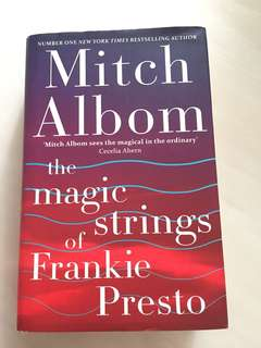 Mitch Albom the magic strings of Frankie Presto