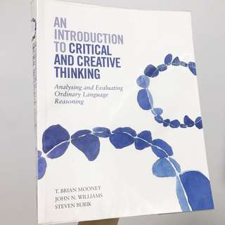 An Introduction To Critical And Creative Thinking Textbook