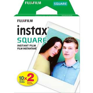 Fujifilm Instax Square Instant Film Twin Pack (20 Sheets)