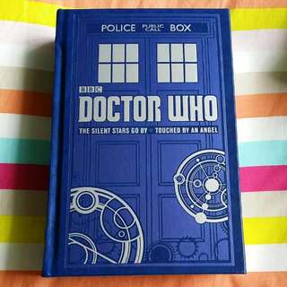 Doctor Who 2 novels - Leatherbound