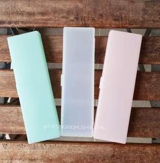 Pastel pencil case