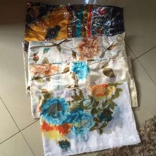 Kerudung/Scarf Silk (1Set Isi 4pcs)