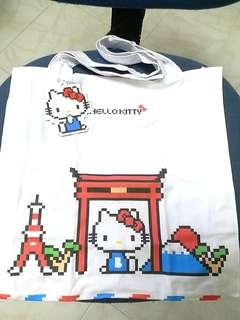 全新Hellokitty環保布袋