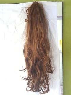 Light Brown, Long hair Wig