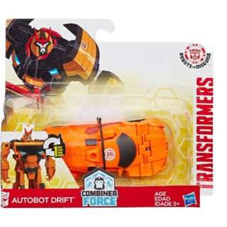 Transformers Autobot Drift Robots in Disguise Combiner Force 1-Step Changer