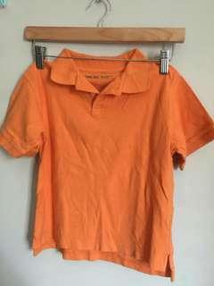 🙇SALE! Orange Polo 5-6yo
