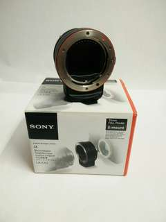 Sony A to E adapter