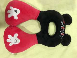 Mickey Mouse neck support