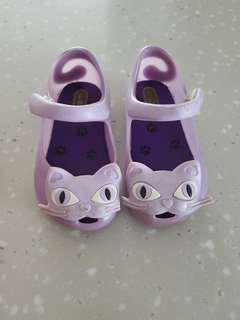 Mini Melissa Ultra Girl purple cat