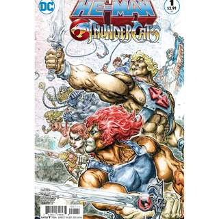 He-Man/Thundercats #1-6 complete miniseries (DC, MOTU, Masters of the Universe, Lion-O)