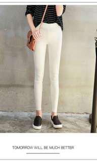Ladies White Jeggings