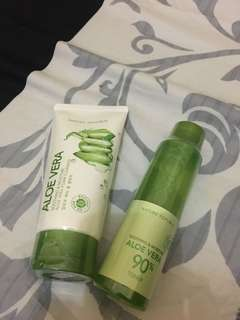 Nature republic facial wash dan toner