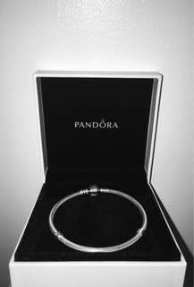 REPOST AND REPRICED: Pandora Moments Silver Clasp Bracelet