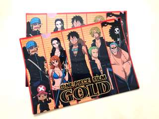 [Limited Edition] ONE PIECE Film Gold Clear File