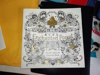 Enchanted Forest color book