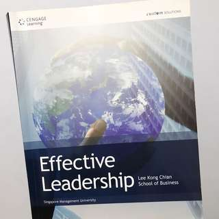 Effective Leadership Textbook