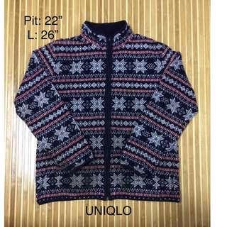 Sweatshirt UNIQLO bercorak